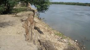 Gameleira, vila de pescadores nas barrancas do rio. Erosão social e física.