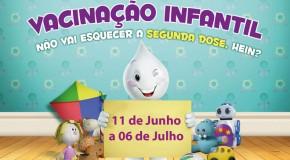 Vacinação contra a Paralisia Infantil.