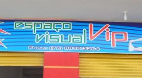 Espaço Visual VIP. A nova Academia de ginástica de Sítio do Mato.
