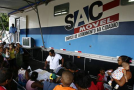 População Sitiomatense recebe o Sac Móvel da Saúde.